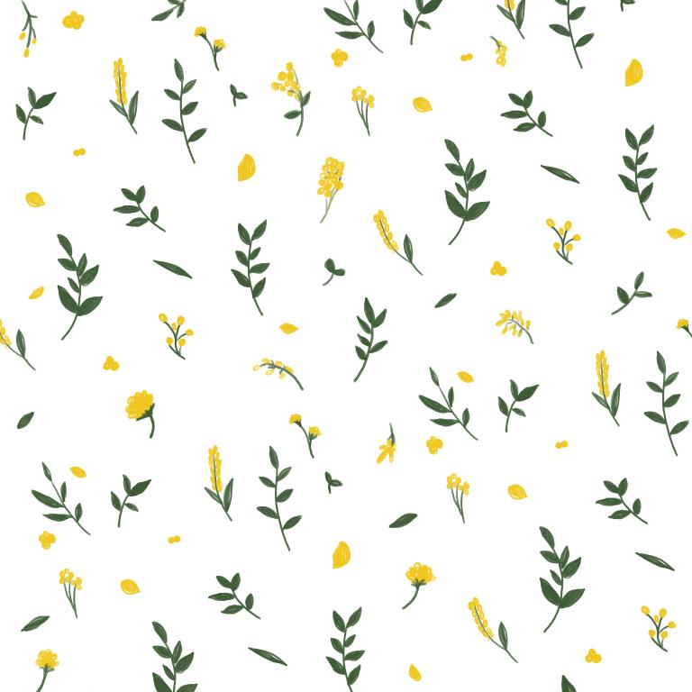 お花と葉っぱ