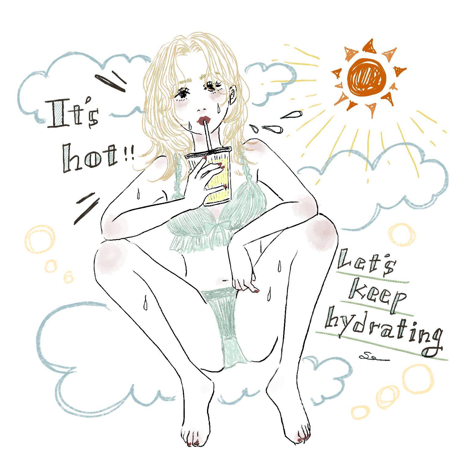 猛暑の日々